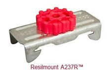 A237R Resilmount Sound Isolation Clips, 10/Box Noiseproofing Acoustic Mounting