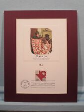 The Art of Quilting & the Cradle Quilt and First Day Cover Commemorative Panel