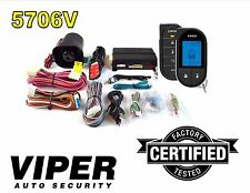 VIPER 5706 CAR SECURITY ALARM WITH REMOTE START AND 2-WAY PAGER DEI B5706V