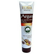 Victoria Hand & Nail Cream with Argan Oil, Soothes and Moisturises Eco Certified