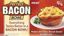 "Perfect Bacon Bowl ""As Seen on TV"" 2 Bacon Bowls"