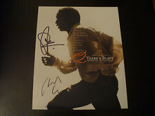 "Chiwetel Ejiofor & Steve McQueen In Person Signed ""12 Years A Slave"" 8x10 W/COA"