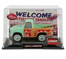 DISNEY CARS Disney Store John Lassetire SURFIN SAFARI CHASE W/ DISPLAY CASE