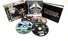 LUNAR SILVER STAR STORY COMPLETE •PlayStation 1 PS1•