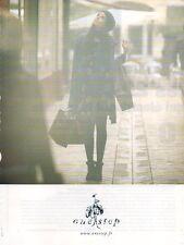 Publicité Advertising 2011  one step pret à porter collection mode