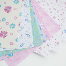 72Pcs/pack Square Floral Pattern Origami Paper Single Sided DIY Kid Folded Paper