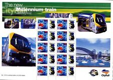 Australia MNH, 2002 Millennium Train Presentation sheet. x22620