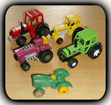 Trecker Konvolut 5 x Tractor Matchbox, Siku, Welly