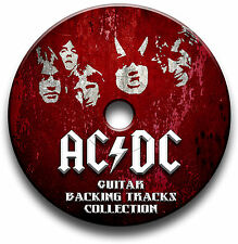 AC/DC STYLE MP3 ROCK GUITARE SUPPORT TITRES COLLECTION JAM TITRES