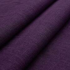 Bio linen (purple) linen fabric, high quality, breathable - by the yard