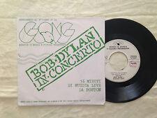 Bob Dylan – In Concerto - 7' Vinile 45 giri