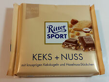 Ritter Sport  - KEKS + NUSS - 3.5oz - 100g - MADE IN GERMANY - BEST PRICE
