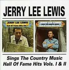 Jerry Lee Lewis - Sings the Country Music Hall of Fame Hits 1 & 2 [New CD]