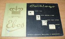 CATALOGO EBOS QUALITY CUCINE A CAS ELETTRICHE MISTE A LEGNA A CARBONE MOBILETTI