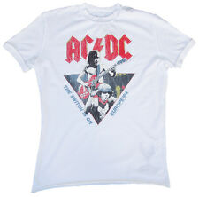 AMPLIFIED AC/DC ACDC Europe'84 The Switch is On Rock Star Vintage T-Shirt g.M