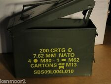 U.S. Military 30 Cal Ammo Can Excellent Empty