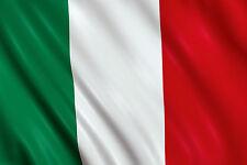 BANDIERA DELL'ITALIA GRANDE TRICOLORE 150x90 ITALIANA MONDIALI ASOLA PER ASTA