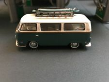 1972 VOLKSWAGEN TYPE 2 VW BUS W/SURBOARD RARE 1/64 LIMITED EDITION DIECAST MODEL
