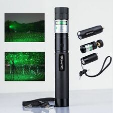 New High Power SD303 5mW Green Laser Pointer Adjustable Burning Lazer Pen 532nm