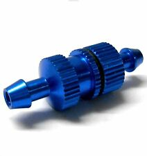 L11505 1/10 R/C RC Nitro Engine Small Inline Alloy Oil Fuel Filter Navy Blue