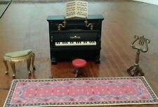 PLAYMOBIL Schimmel Piano set 5551 Victorian Mansion house dollhouse plays music