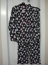 Victorias Secret Dreamer Flannel Pajama Set DANCING POLAR BEAR Pajamas NWT Large