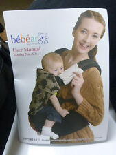 Bebamour Comfort Wrap Toddler Baby Sling Carrier for Newborn