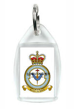 ROYAL AIR FORCE 4626 COUNTY OF WILTSHIRE EVACUATION SQUADRON KEY RING (ACRYLIC)