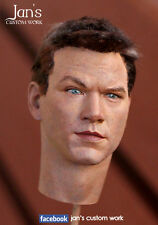 1/6 CUSTOM REPAINT REHAIR Matt Damon hot toys figure head sculpt enterbay DX