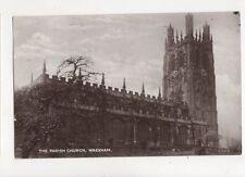 Parish Church Wrexham 1926 Postcard 778a