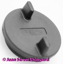Marine Boat Replacement Perko Gas Deck Fill Cap Black Nylon Seachoice 32501