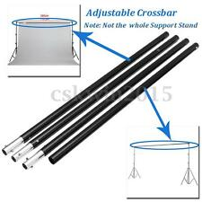 2.8m/9.2ft Adjustable Crossbar Background Backdrop System Photo Support Stand