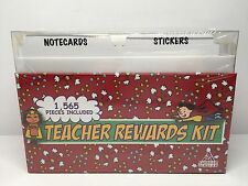 TEACHER REWARDS KIT 1,565 Pieces Stickers Bookmarks Award Certificates Education