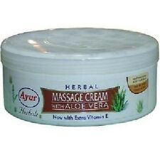 Ayur Natural Herbal Massage Cream with Aloe Vera and Cleansing- 200ml(Pack Of 2)