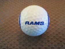 LOGO GOLF BALL-NFL.....ST. LOUIS RAMS.............FOOTBALL LOGO....COOL
