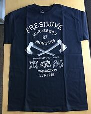 FRESHJIVE Murderers Tee. Black. Size M. Supreme Stussy Huf. Excellent Cond