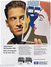 PUBLICITE ADVERTISING 105  1993  HEWLETT PACKARD imprimante HP DESKJET 310