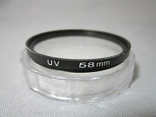 Meking 58mm Ultra-Violet UV lens Filter Protector for Nikon Canon Sony Camera