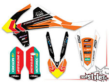 KTM SX SXF EXC 85 125 250 300 350 450 2016 - | MX DECORO Decalcomanie Graphics T. CAIROL