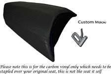 CARBON FIBRE VINYL CUSTOM FITS PEUGEOT JETFORCE 50 125 REAR SEAT COVER