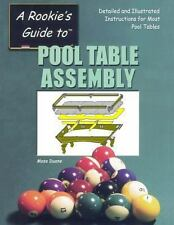 Pool Table Assembly by Mose Duane (2013, Paperback)