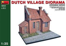 MiniArt Models 1/35 Dutch Village Diorama (Building+Diorama Base)