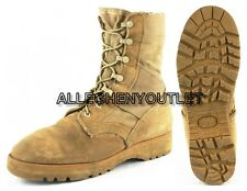 US Military HOT WEATHER COMBAT BOOTS Desert Tan Mens 7 R Womens 9 R EXC