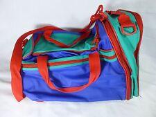 Avon Multi-color Color Block Duffle Bag 1995 vintage 90's