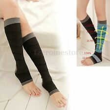 Unisex Slim Leg Sleep Compression Socks Relief Varicose Veins DVT Flight Travel