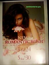 """""""Victoria's Secret ADRIANA LIMA Official Store PROMO Photo Poster VARIOUS PRICES"""