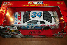 MIKE McLAUGLIN AUTOGRAPHED #34 GOULDS PUMPS RACING CHAMPIONS 10th 1:24 SCALE (47