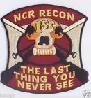 FIRST RECON NCR 3.5