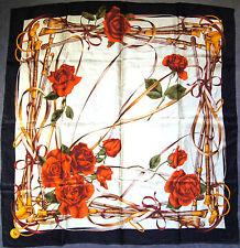 foulard carré en soie MANTERO VIII 87 cm x 85 cm