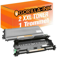Tambor & 2 toner para Brother hl2140 hl2150 hl2170 dcp7030 mfc7320 dr2100 tn2120